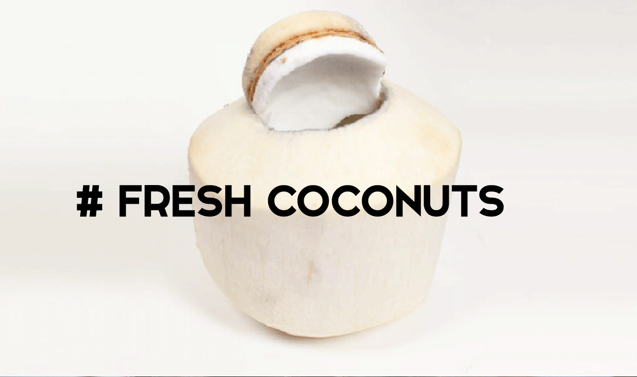 Open Young Coconuts
